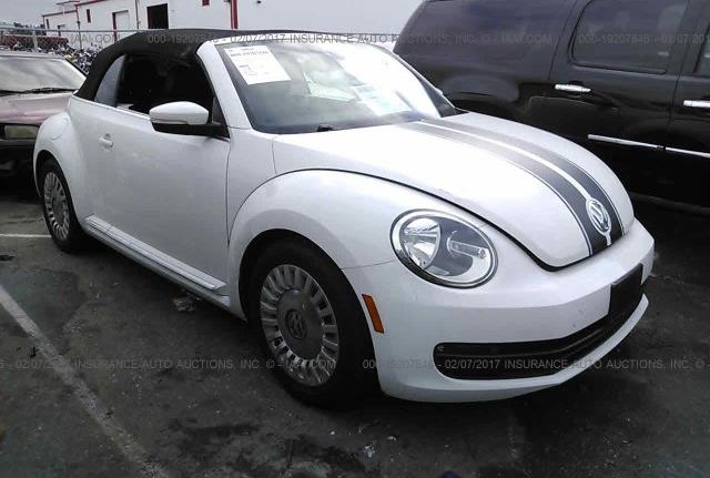 SOLD! Volkswagen Beetle DENIM 2015