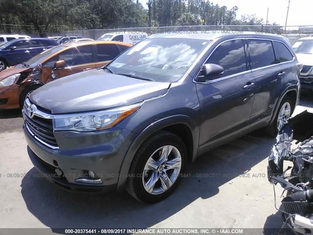 SOLD! Toyota Highlander LIMITED LTD PLATINUM 2016