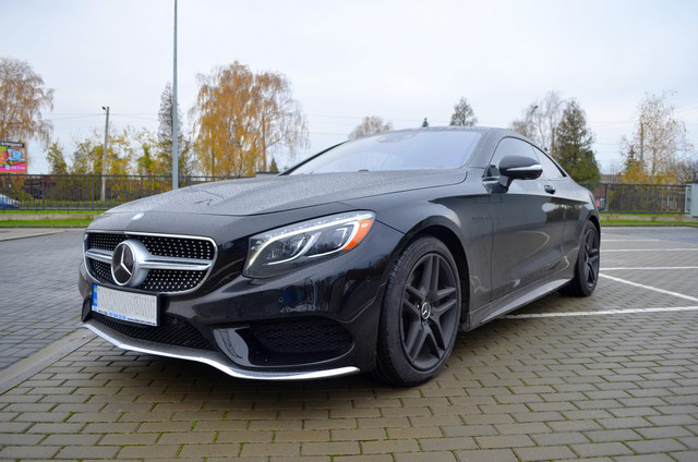 Mercedes-Benz S550 4Matic Coupe 2015