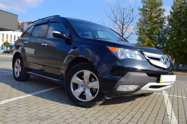 Acura MDX Entertainment package 2009