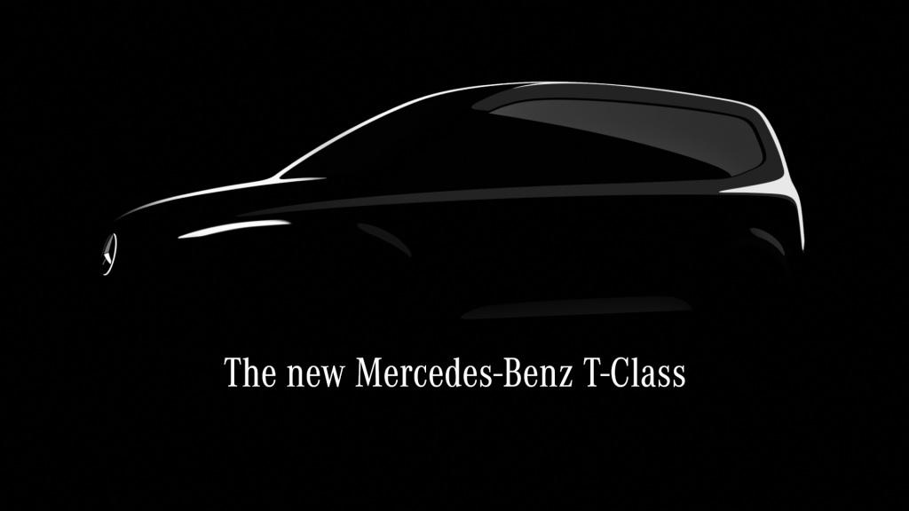 Анонсований Mercedes-Benz T-Class. Новий компактвен для любителів розкоші та комфорту вийде в 2022 році