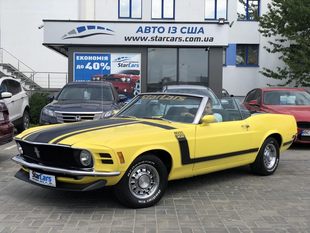 Boss 302 Mustang: безкомпромісний маслкар з США