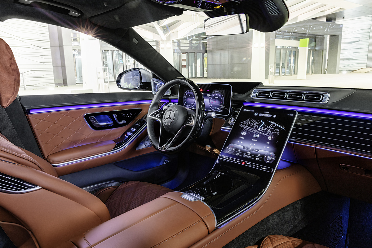 Mercedes-Benz S-Klasse, 2020, Outdoor, Interieur