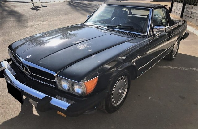 Mercedes-Benz SL 560 1988