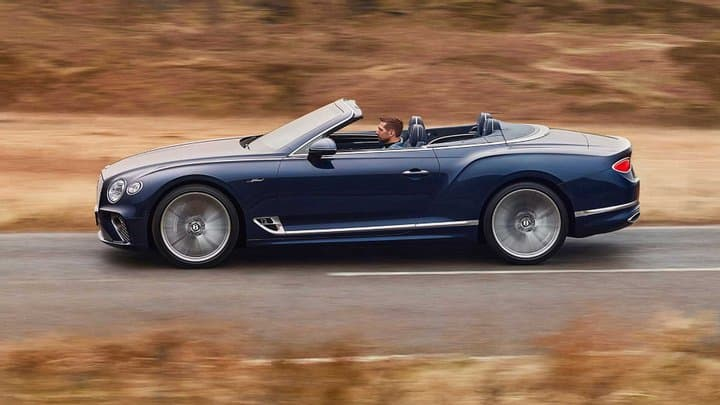 Bentley випустила Continental GT Speed 2021 в кузові кабріолет