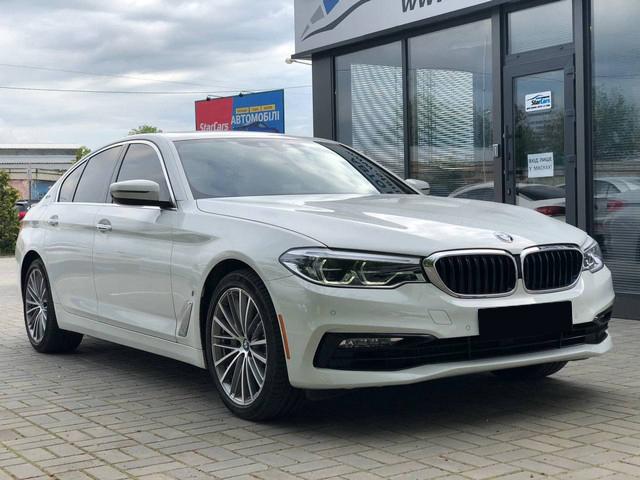 BMW 530e iPerformance 2018